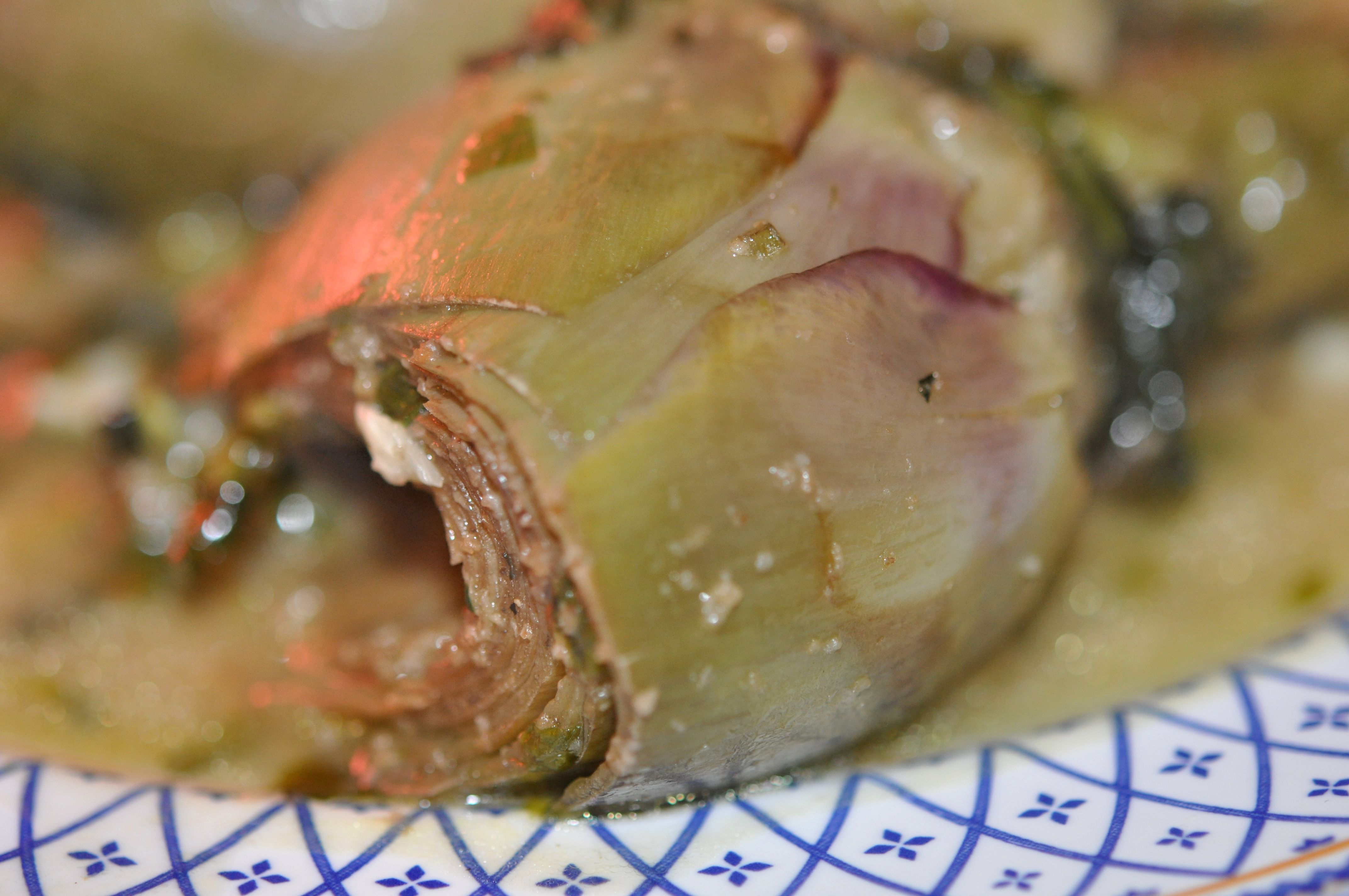 Carciofi alla romana, a food of Rome
