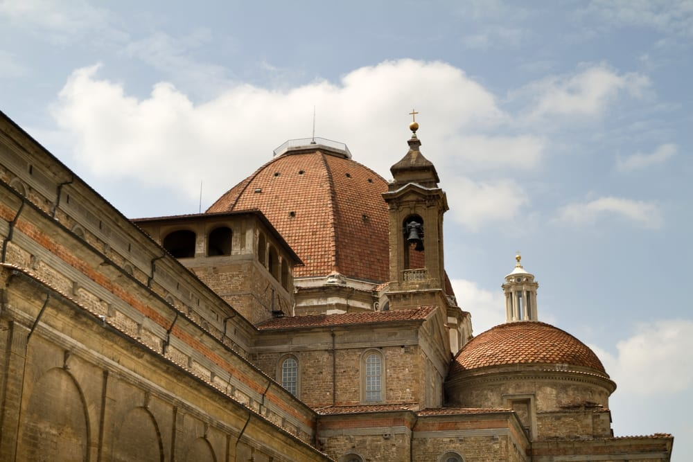 Nearly every member of the powerful Florentine Medici Family is buried in the Basilica of San Lorenzo