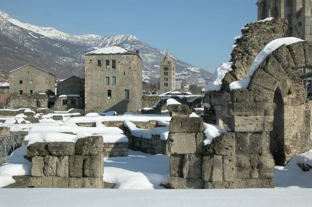 Winter in the Valle d'Aosta