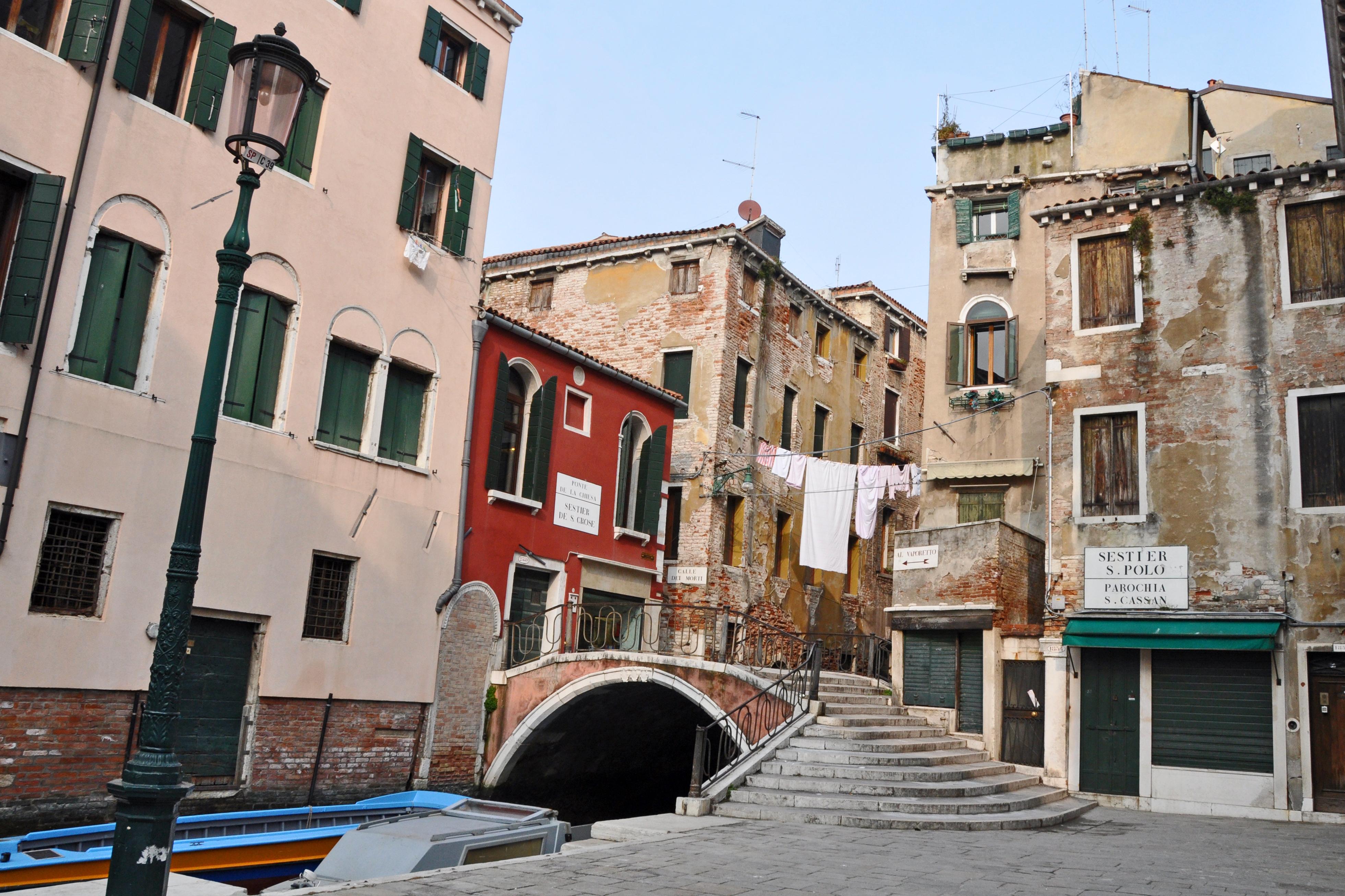 San Polo sestiere in Venice