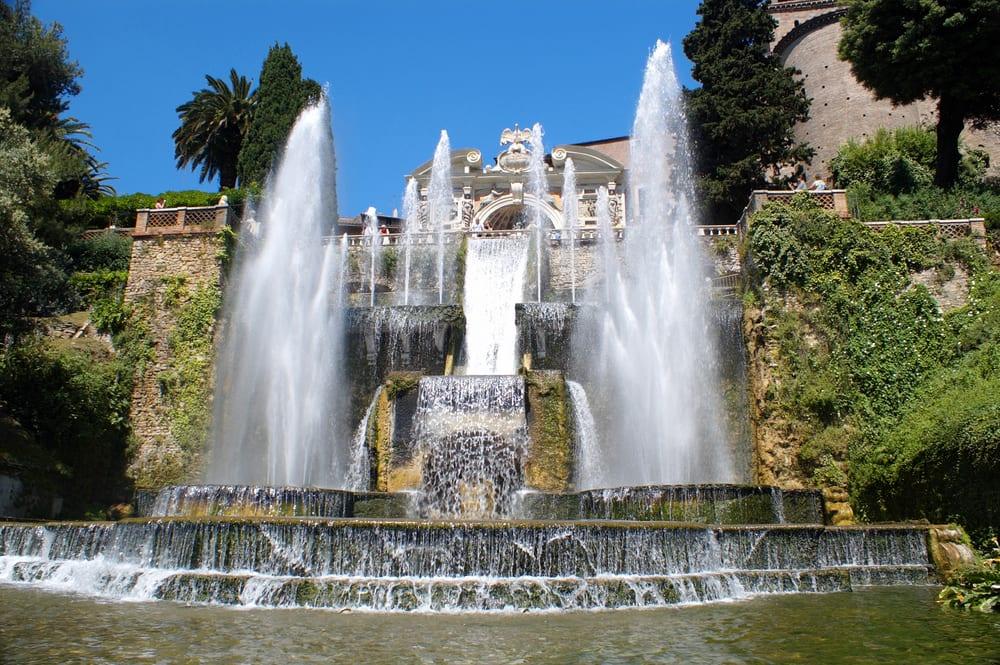 Gardens at Tivoli in Lazio