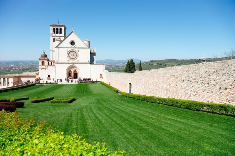 The Basilica of St. Francis in Assisi Unesco Italy