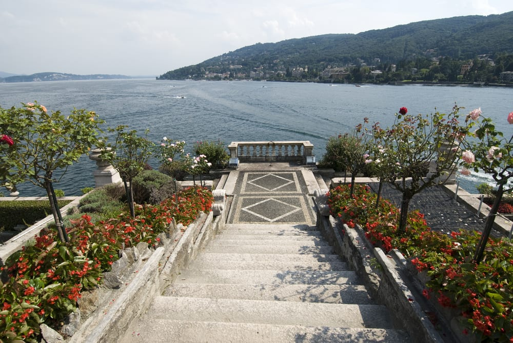The beautiful Isola Bella and its gardens in Lago Maggiore