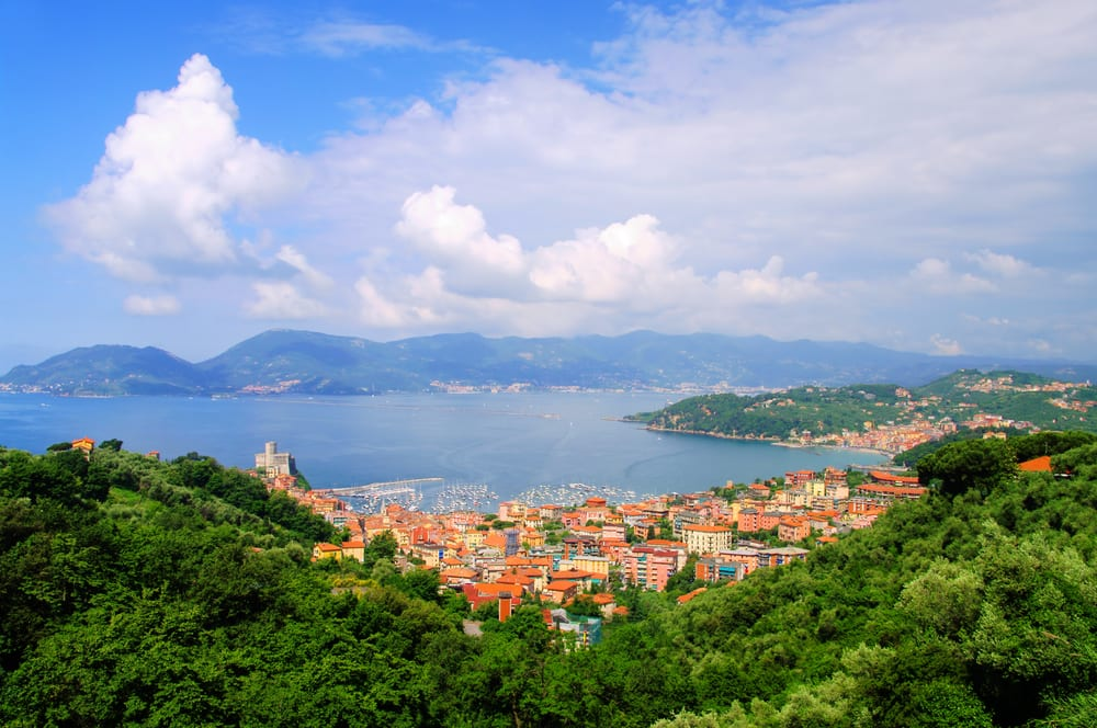 Lerici, a lovely resort town in Liguria