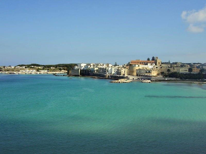 Otranto in Puglia in south Italy