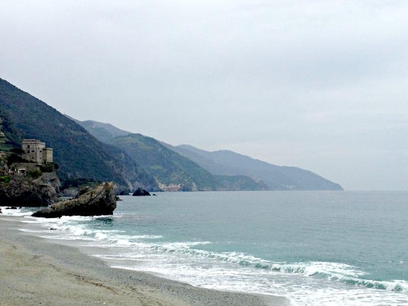 Beach in Liguria