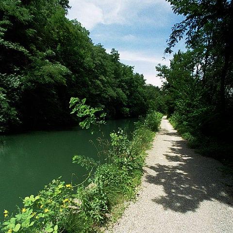 Naviglio della Martesana, a canal in Milan