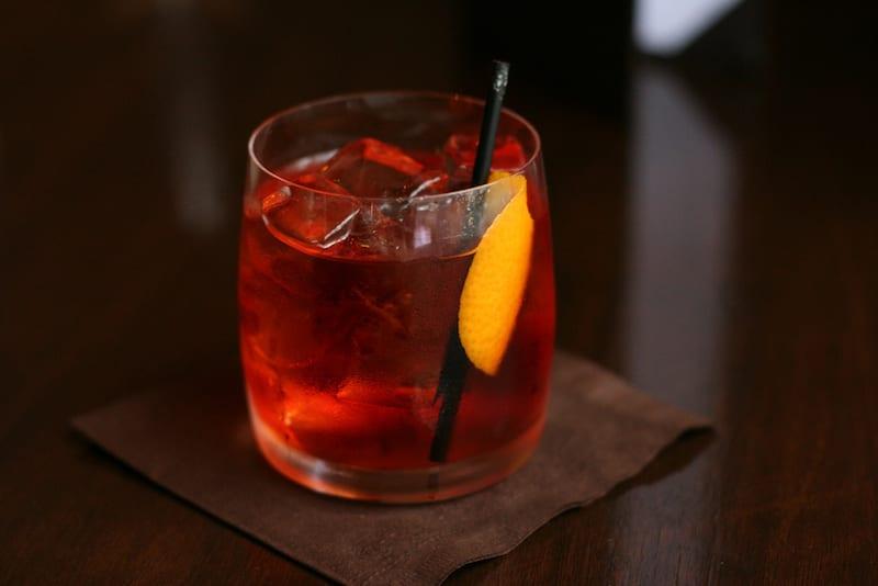 Negroni Sbagliato, a popular summer cocktail
