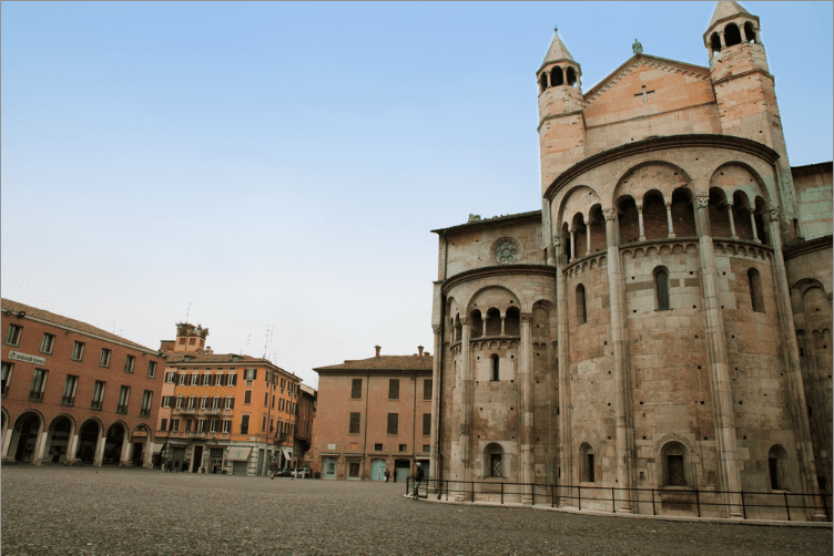 Italian town of Modena