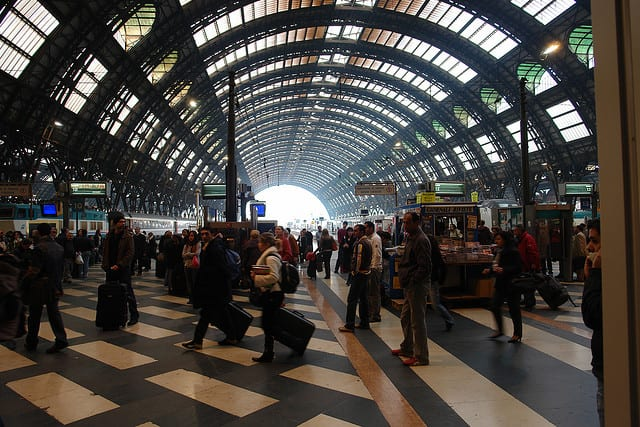 Getting around Milan by train
