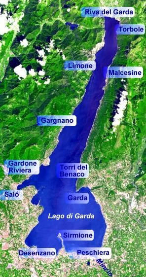 map of lake garda towns Lake Garda Italy Where To Stay How To Get Around And More map of lake garda towns