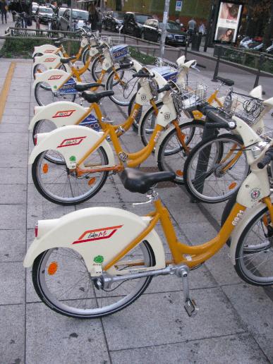 BikeMi station