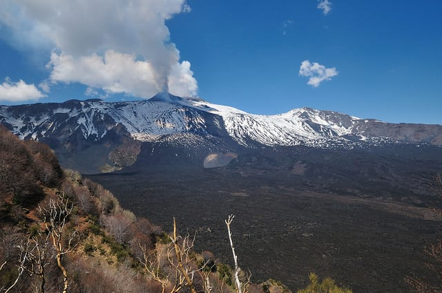 Etna eruption (flickr: gnuckx)