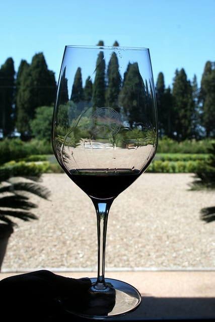 Wine in Tuscany Italy