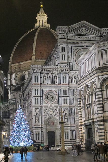 Florence Duomo at Christmas
