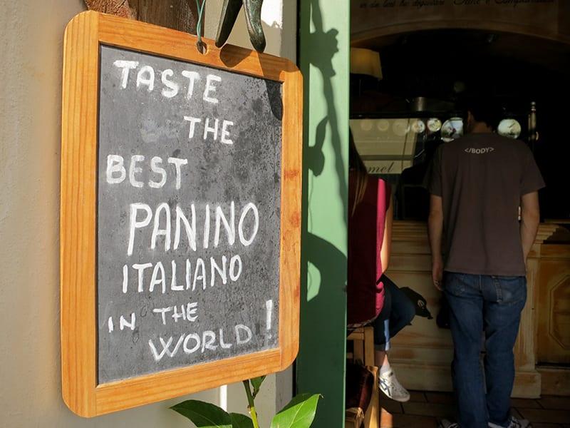 Paninoteca in Florence