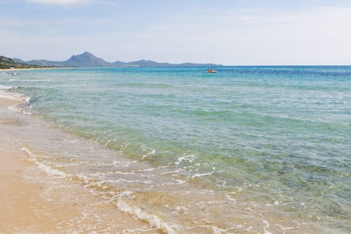 Sardegna, a popular Ferragosto destination