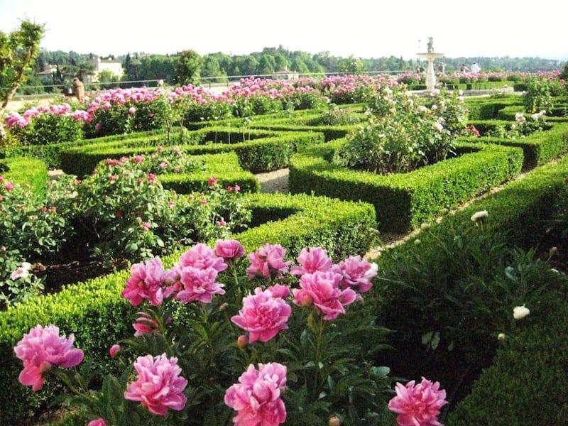 Boboli Garden in Florence