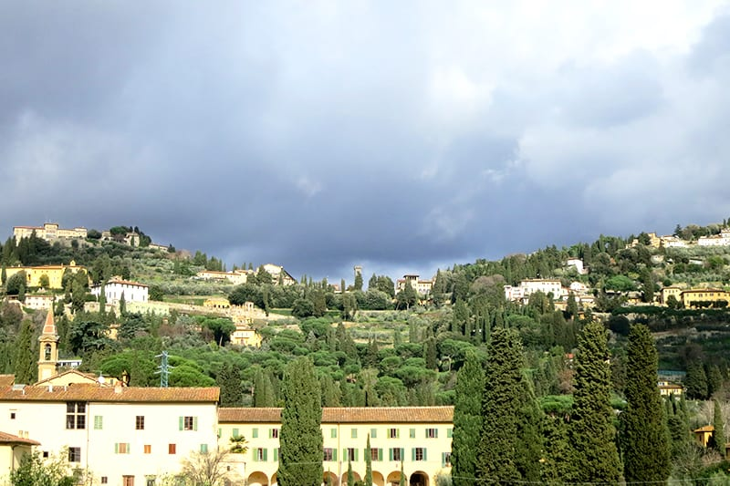 Day in Fiesole