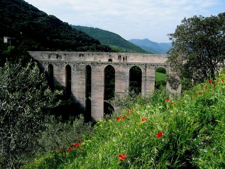 Spoleto, Umbria in springtime