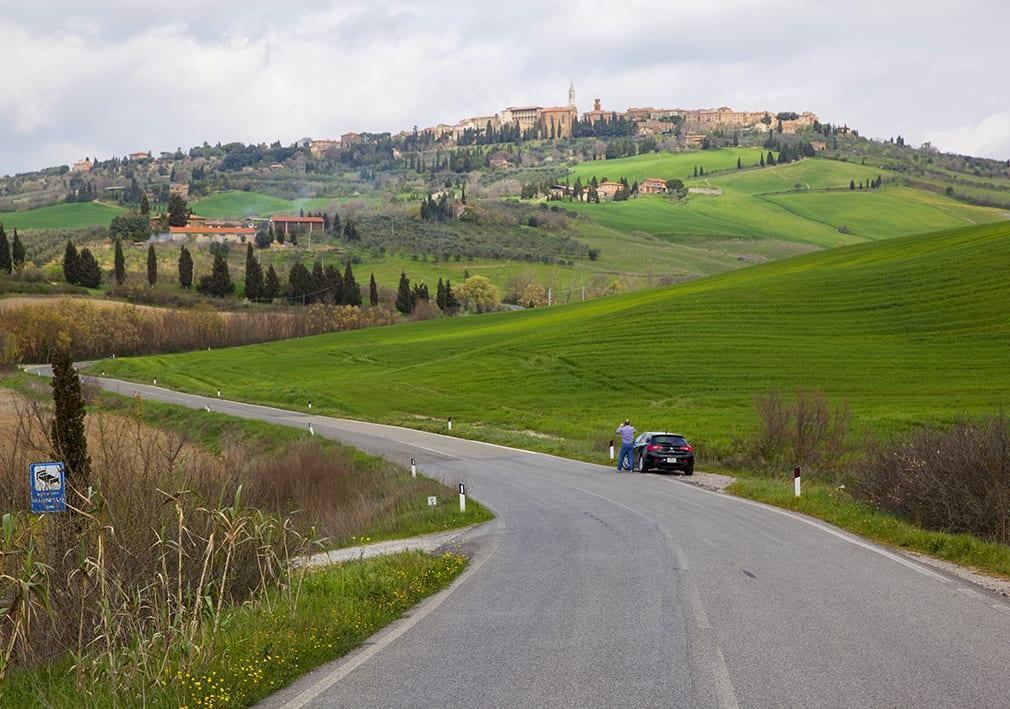 Pienza town, well worth a visit