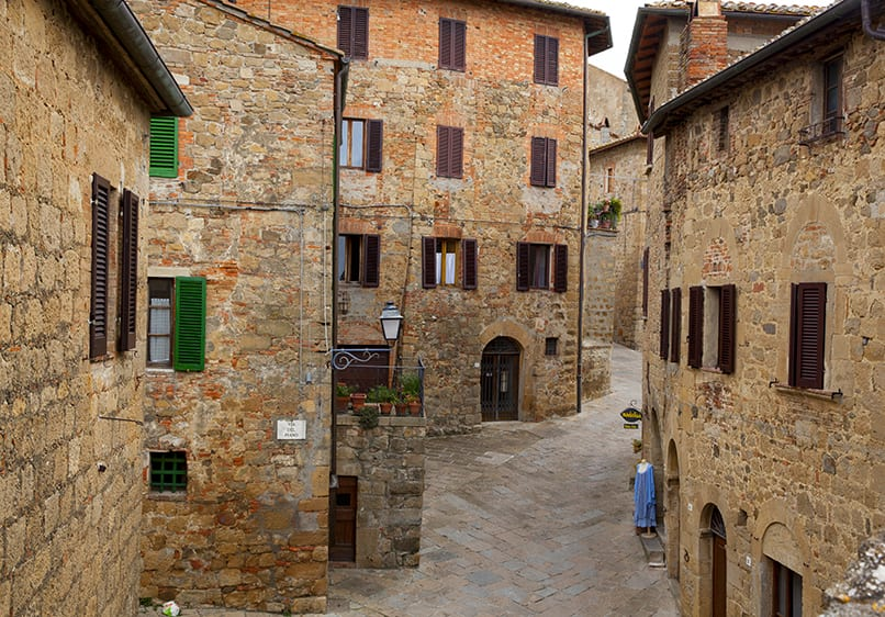 Monticchiello on our Tuscany from Rome Tour