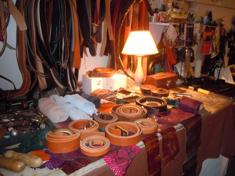 In Monaco Metropolitana you can find belts of all types, purses and shoes – and create your own! | Photo Gina Mussio